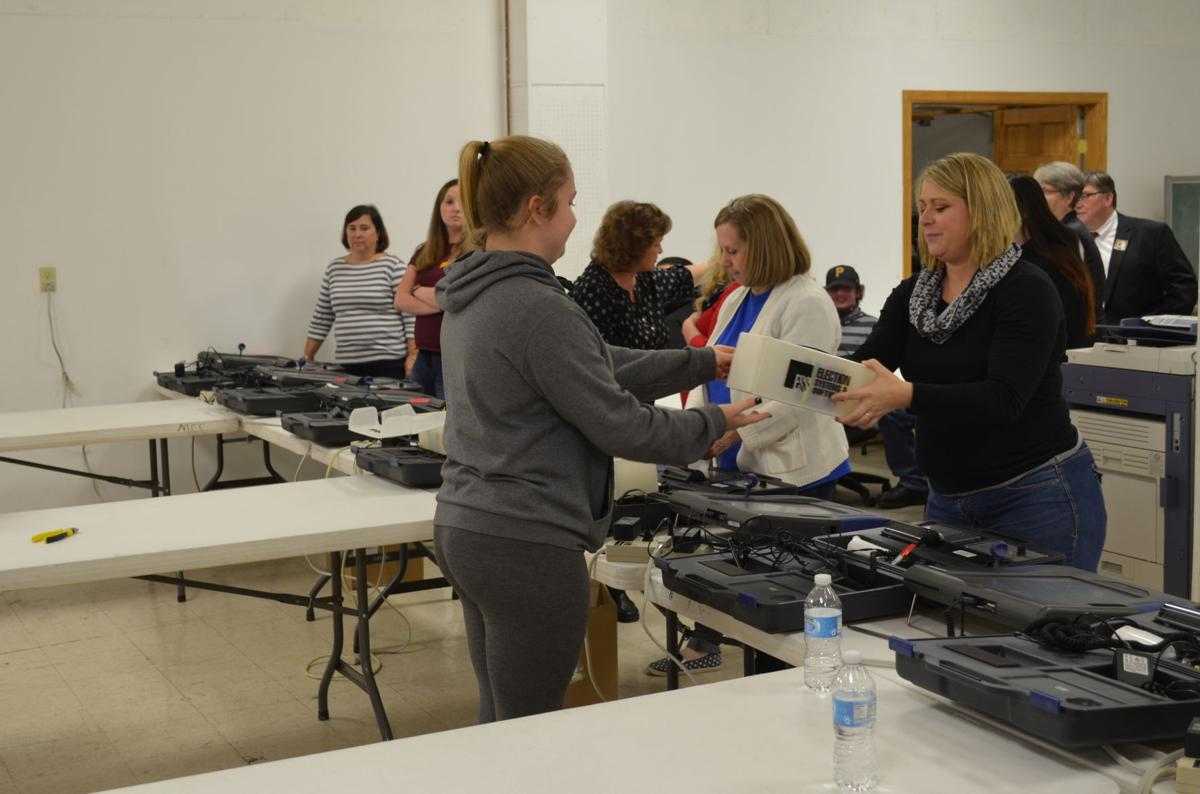 Marion County election center volunteers
