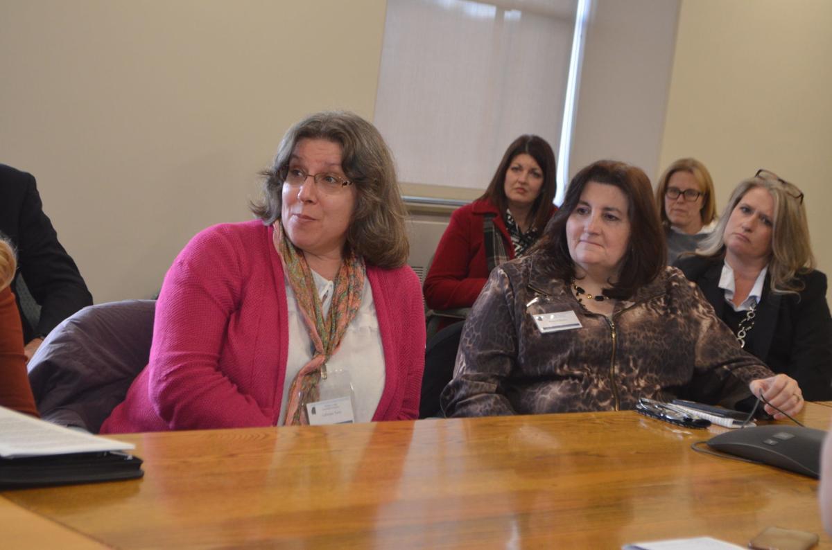 Roberta Baylor, Preston Chamber meet with Thrasher