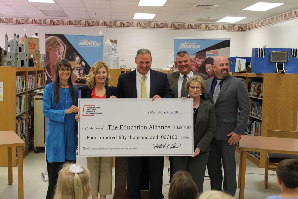Aep Foundation Awards 450000 Stem Grant To Strengthen Math Wv