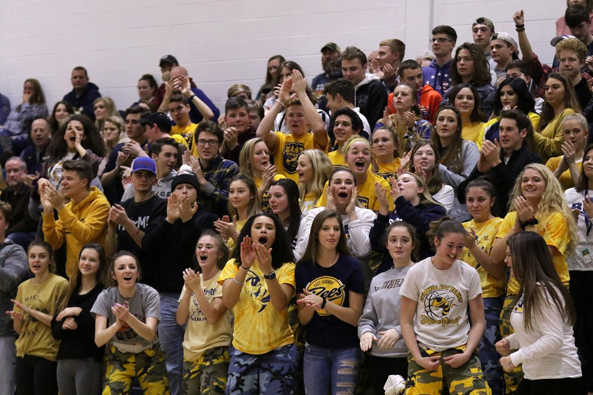 East Fairmont Students Erupt
