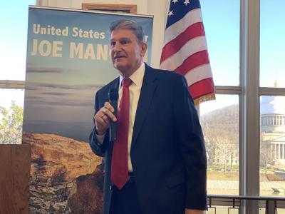 Sen. Joe Manchin speaking
