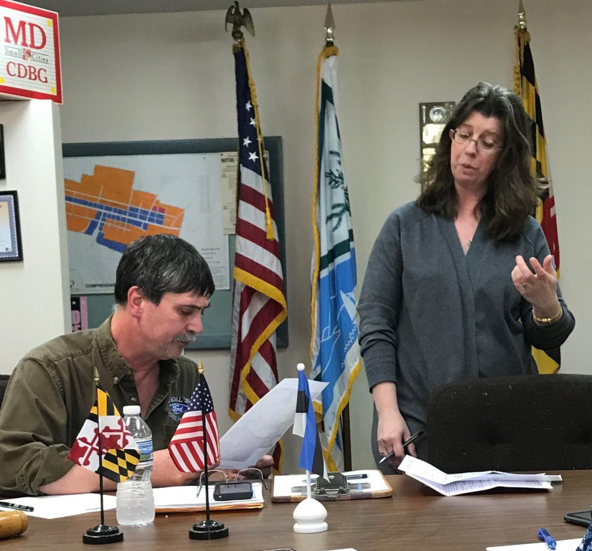 Mayor Diehl and Administrator Jones