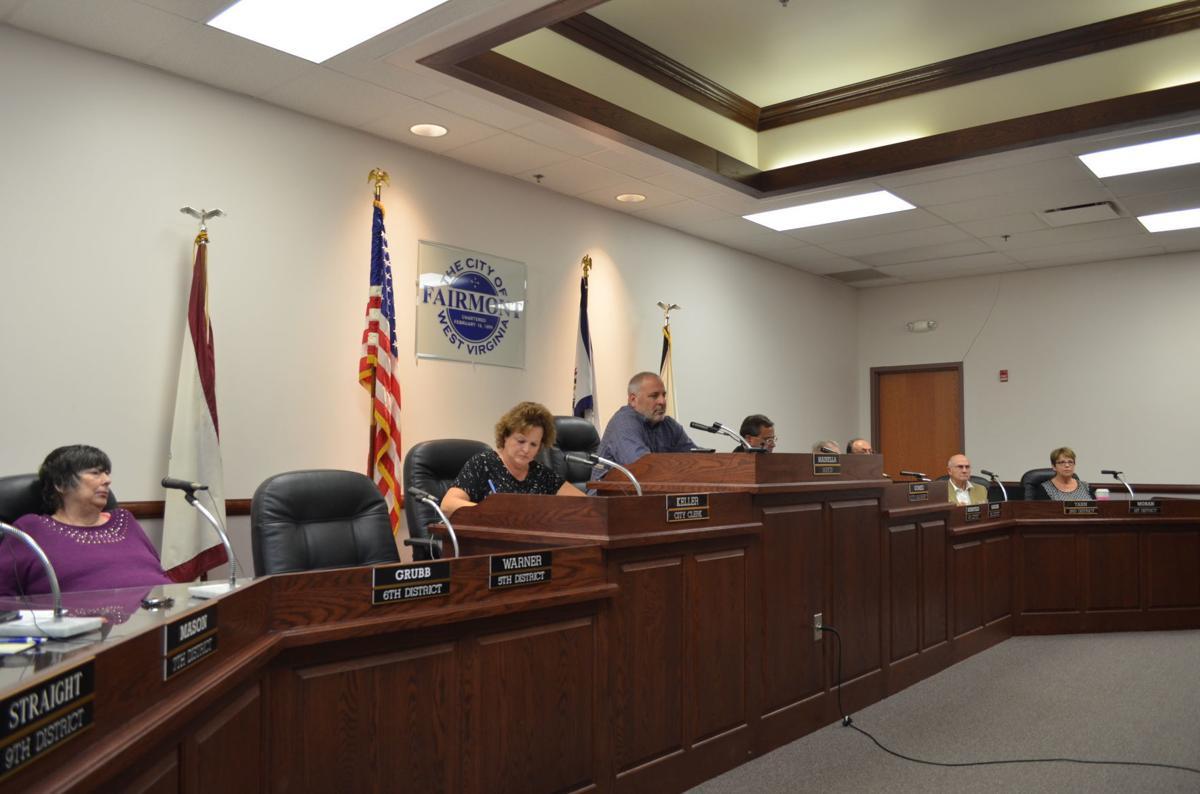 Fairmont City Council - Sept. 2018