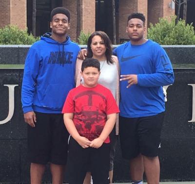 Dante Stills' family