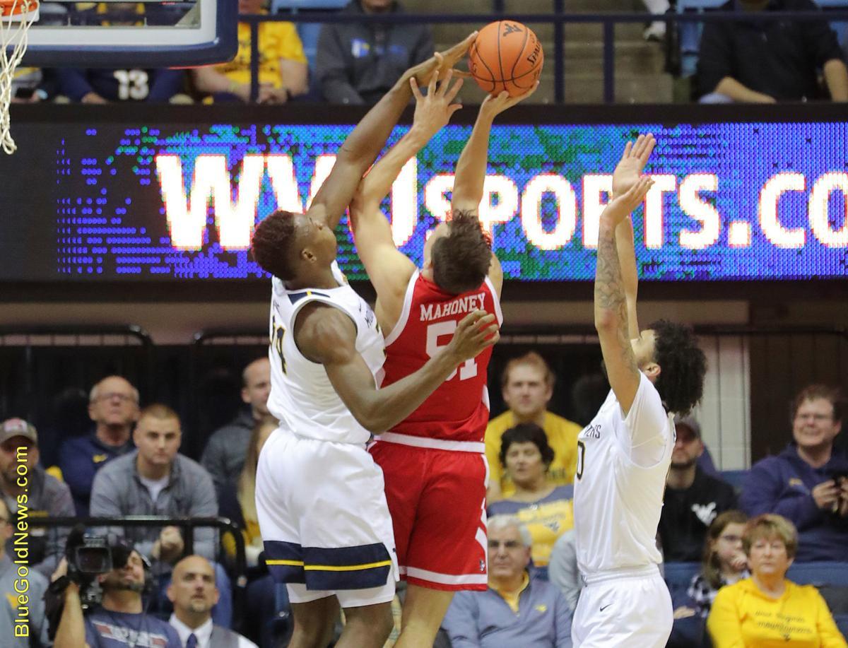 WVU Basketball Oscar Tshiebwe Front.JPG