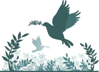 Obituary dove icon