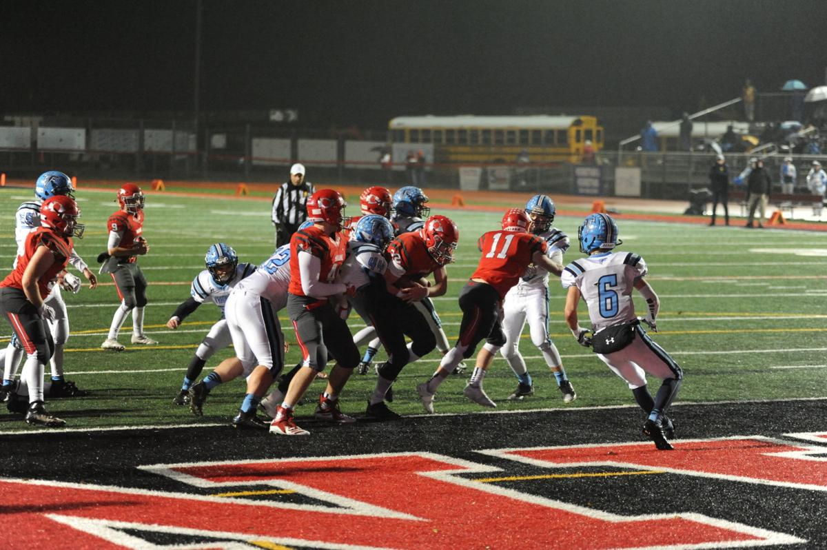 Jake Bowen rushing touchdown