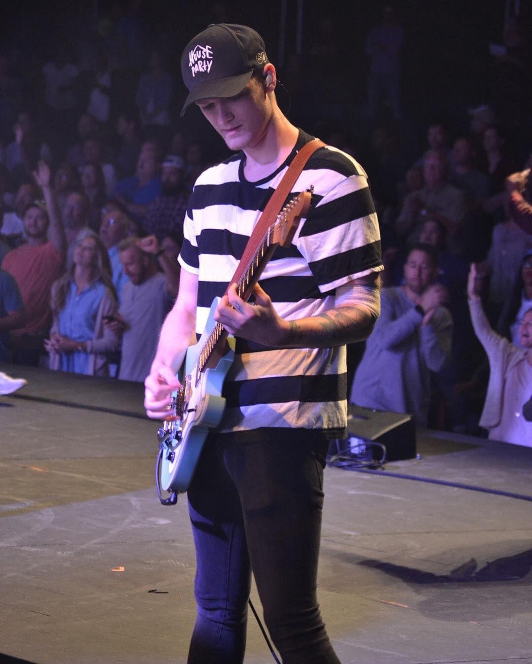 Marshall and guitar