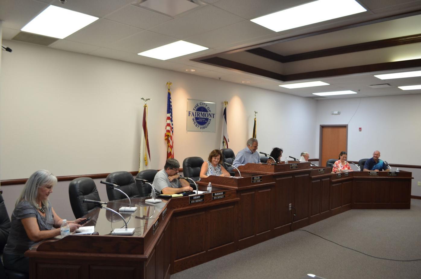 Fairmont City Council 7-27-2021