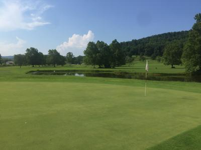 Deerfield Country Club on a hot July day
