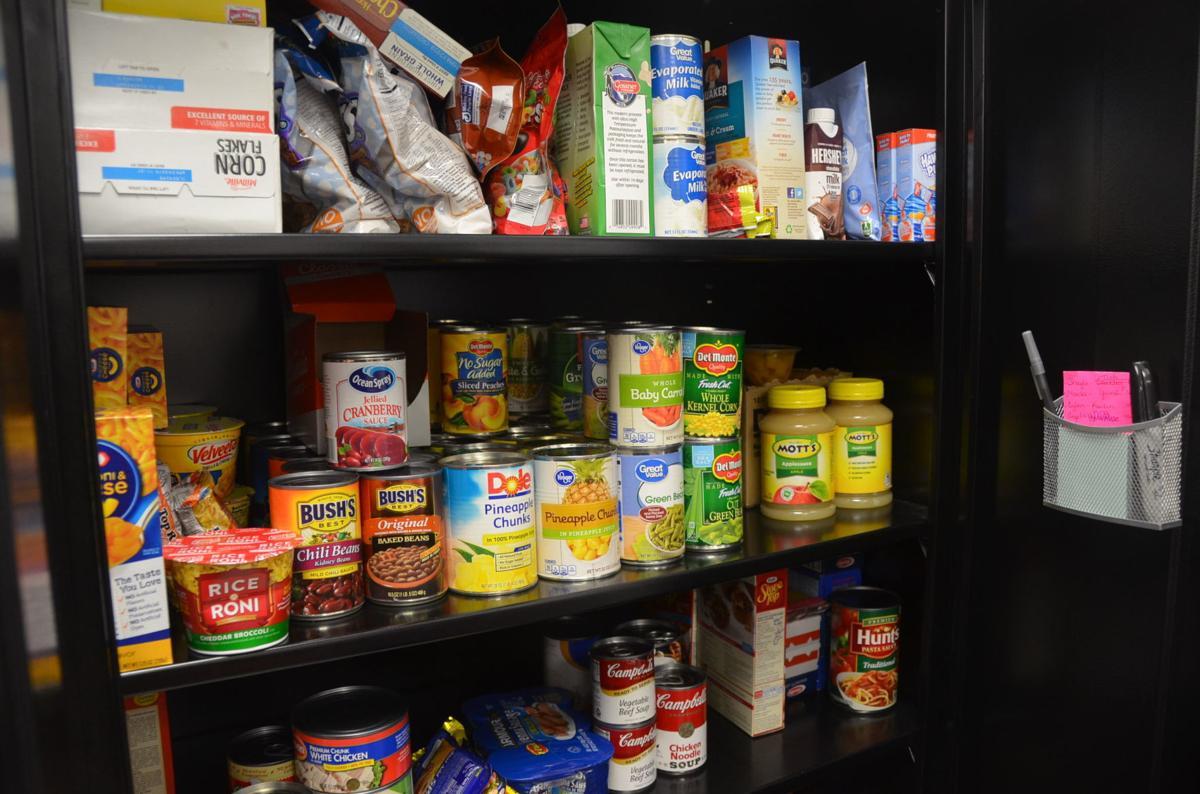 Bridgeport H.S. food pantry