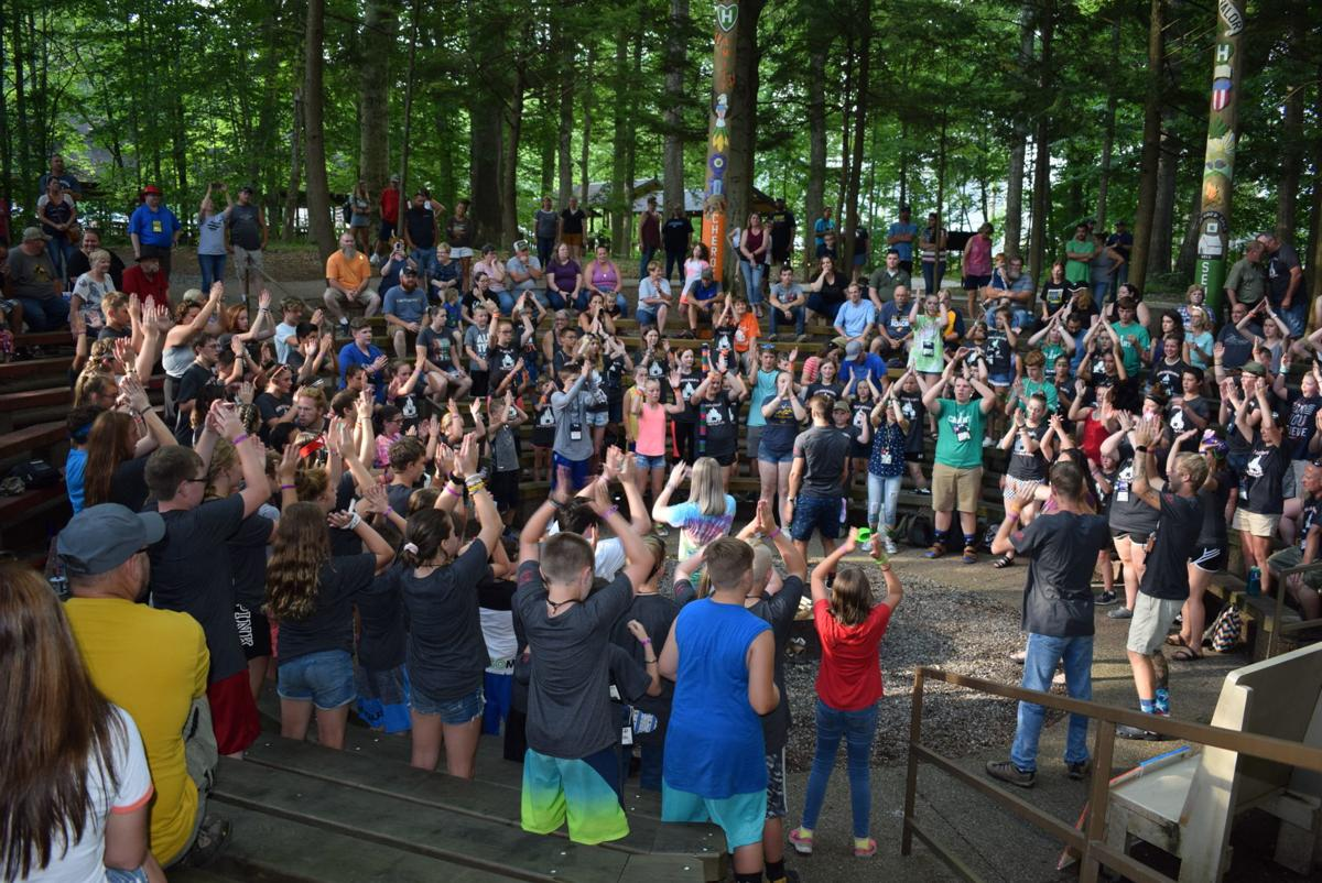 120 LC Youth attend county 4-H camp