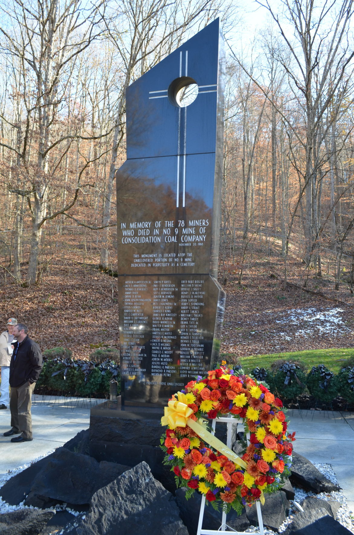 Farmington Mine Memorial