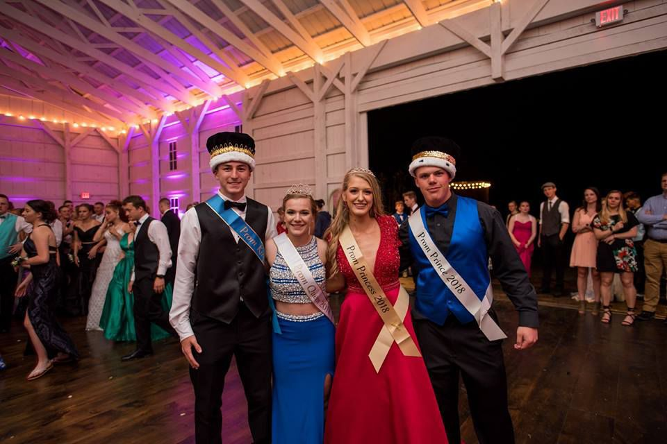 Northern prom court