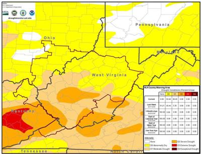 NWS Drought Map