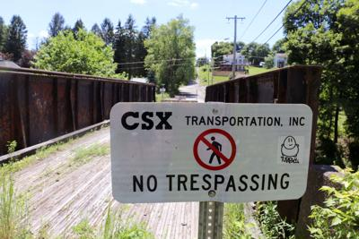 CSX Terra Alta bridge