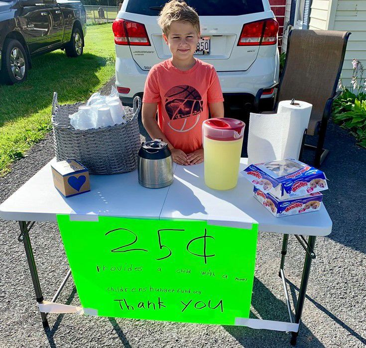 Lemonade stand earns 699 meals for children in need | News