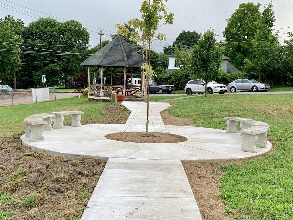 Deer Park sidewalk