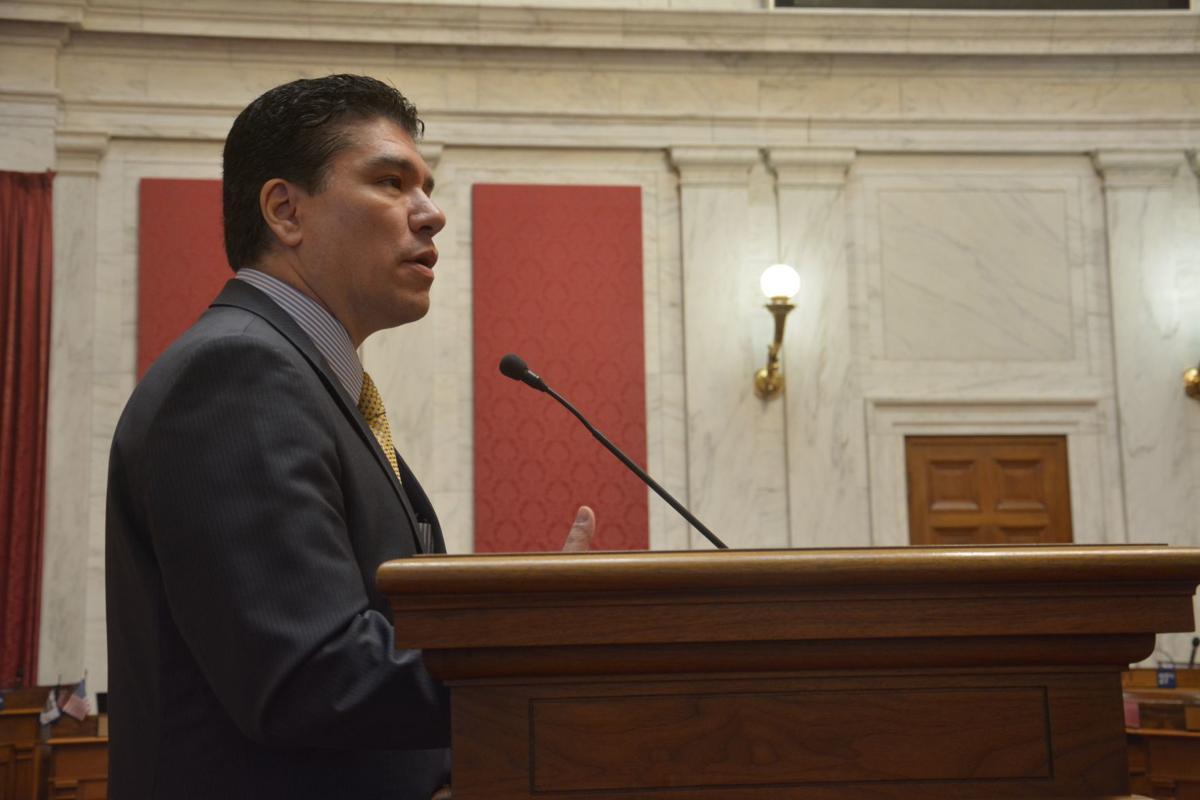 Reyes at Legislature