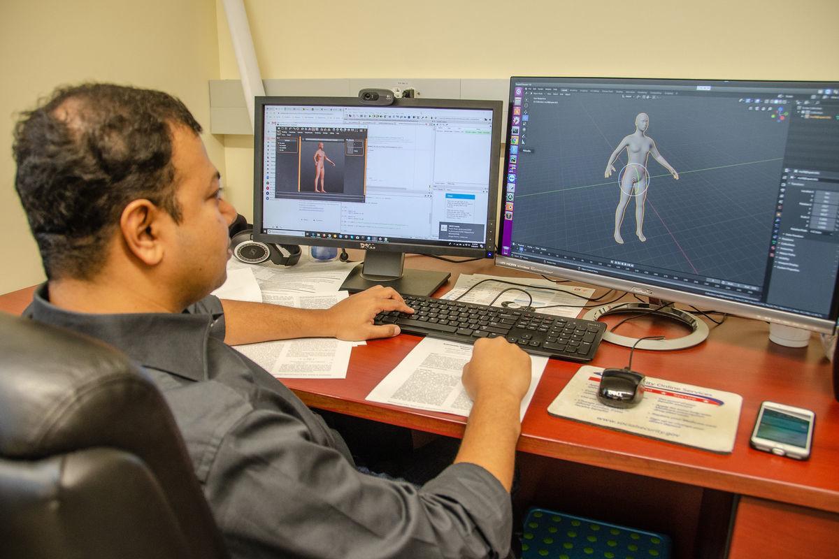Analyzing human 3D models