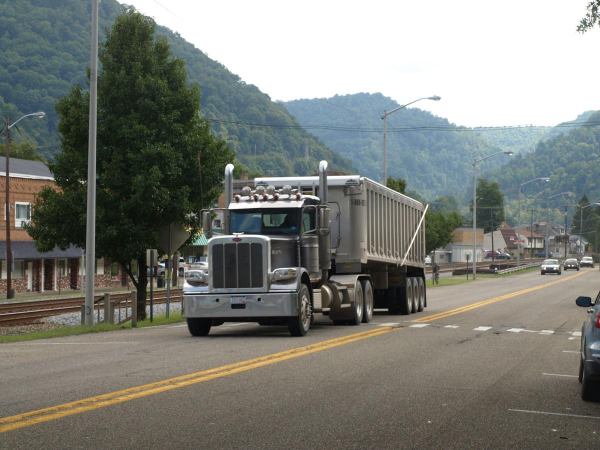 Coal truck in Montgomery