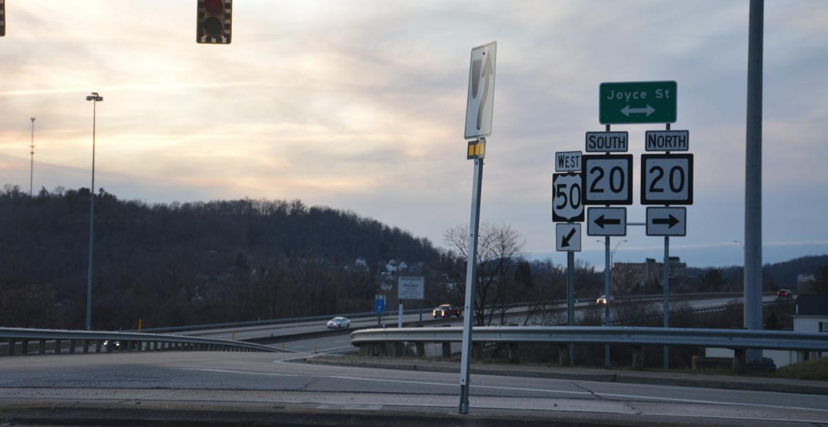 WV Route 20 intersection