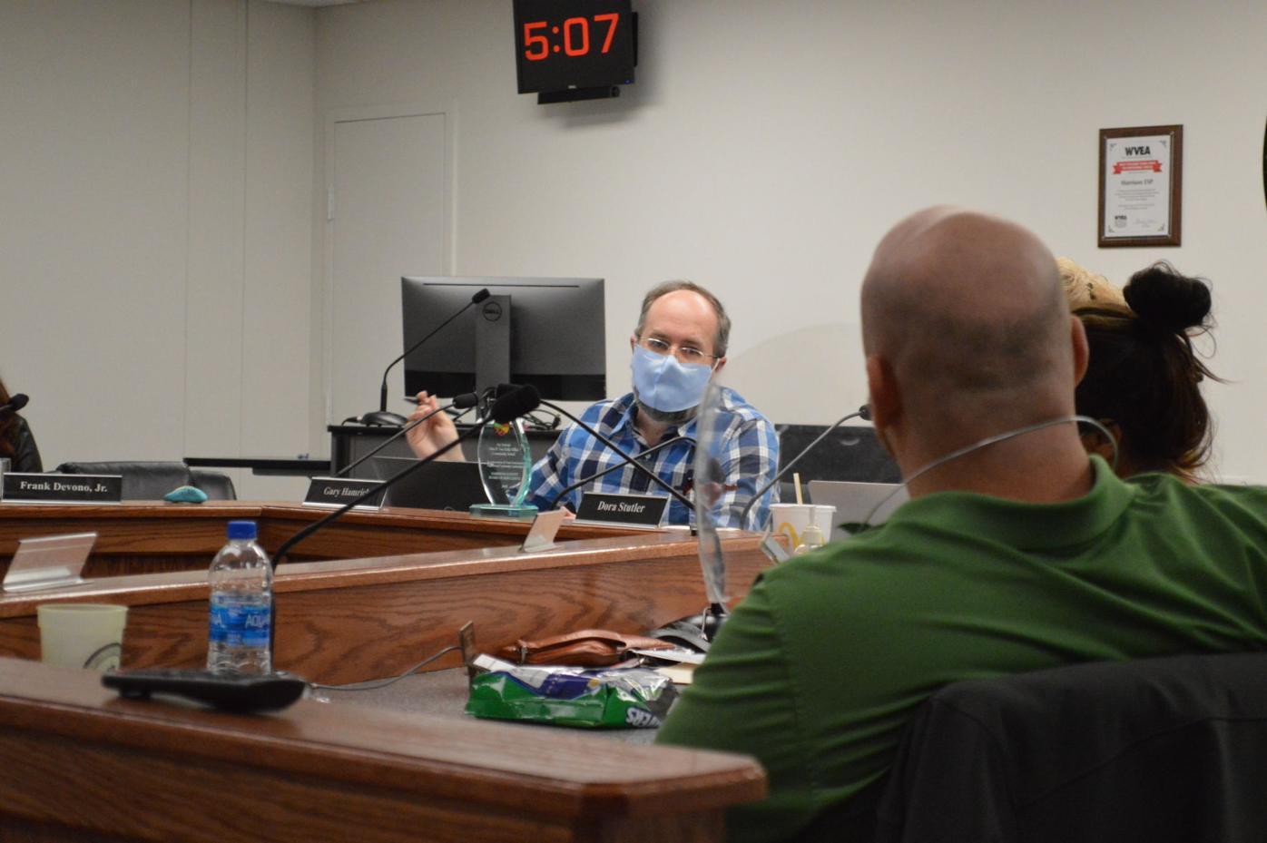 School board members discuss COVID-19