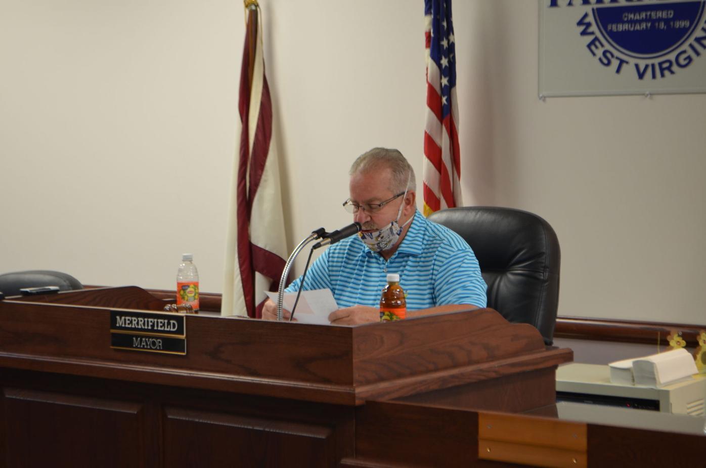 Merrifield reads Bledsoe's statement