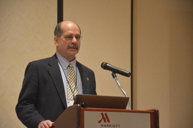 Paul Ziemkiewicz at drainage conference