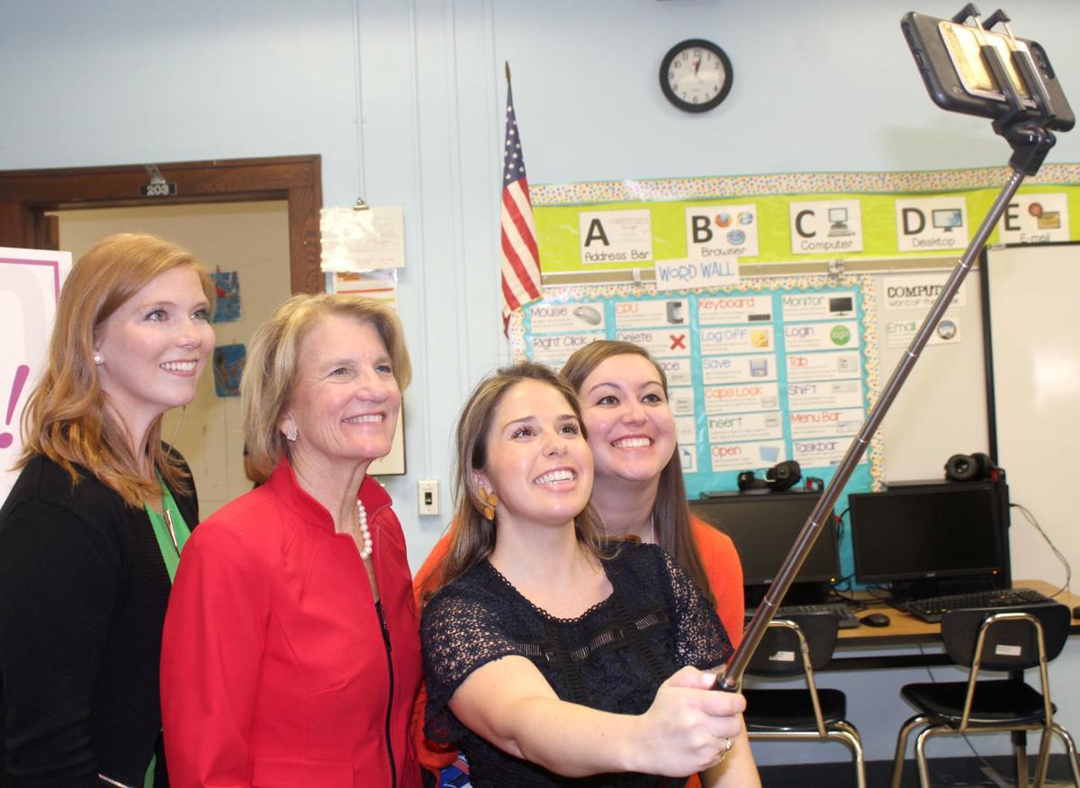 Staff selfie