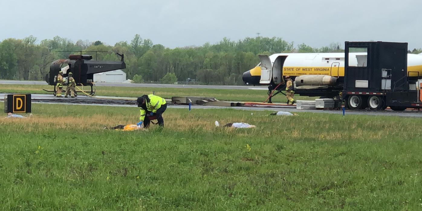 Morgantown Airport disaster drill
