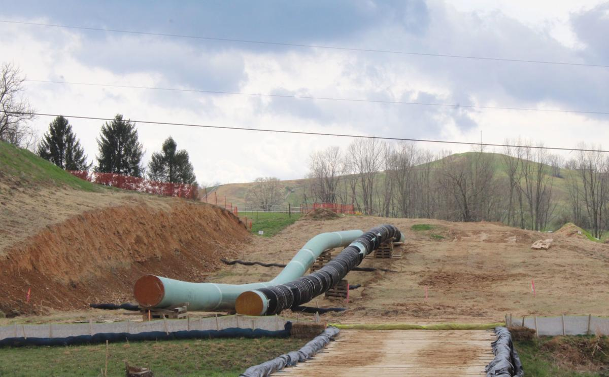 Lewis County pipeline site