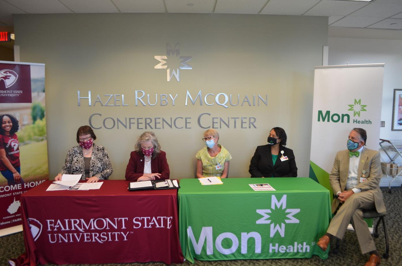 Fairmont State and Mon Health