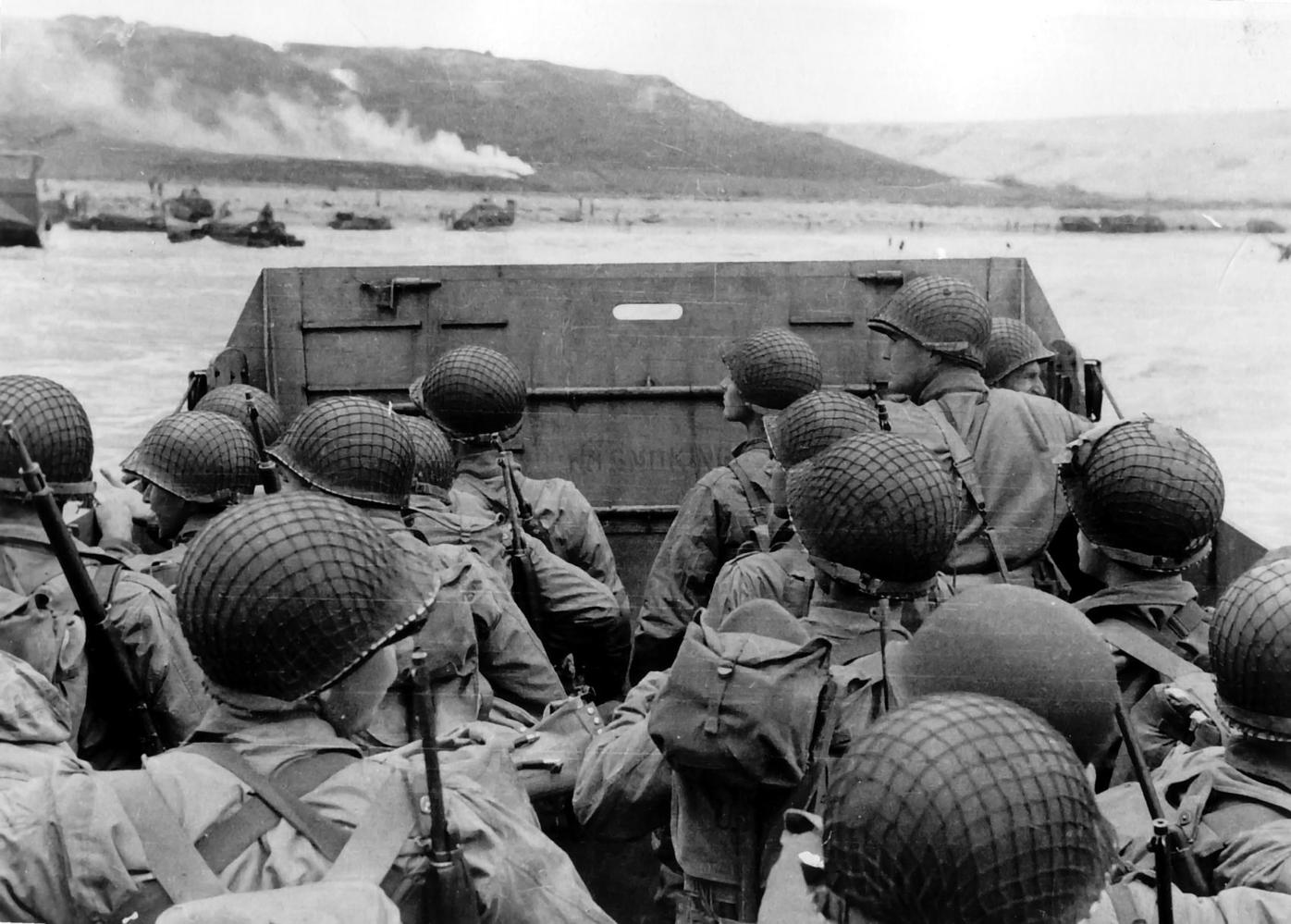 American troops on D-Day