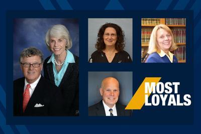 WVU Most Loyal recipients