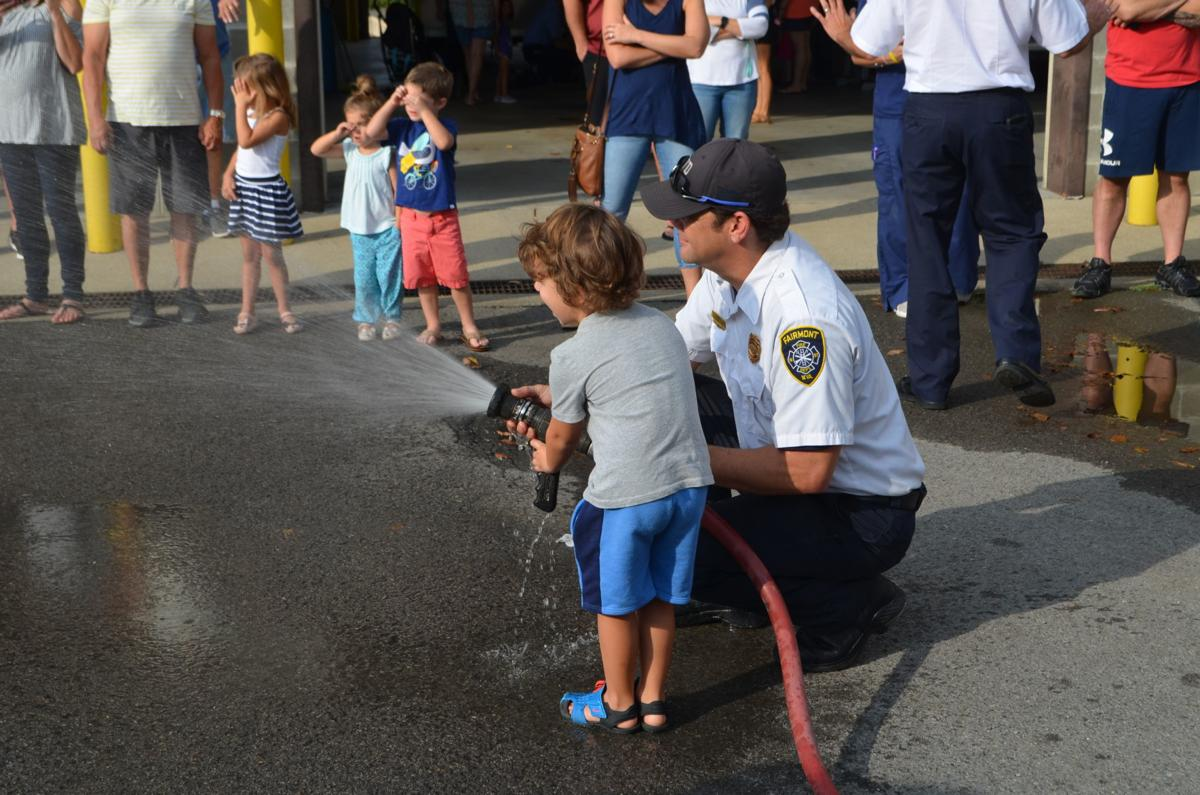 Fire Prevention Month - fire hose