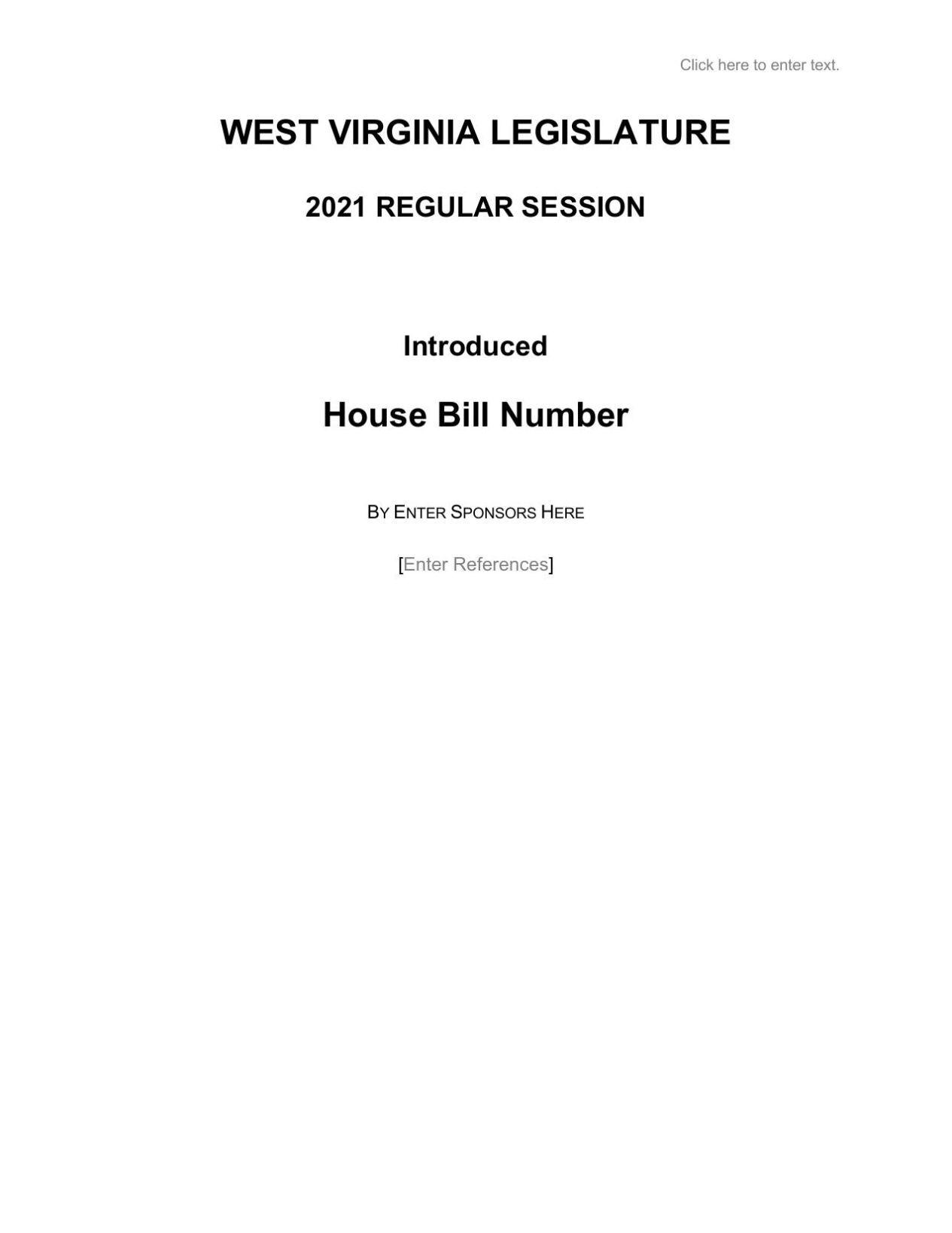 Tax Bill Text