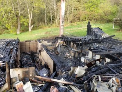 Broadwater Cemetery Road fire