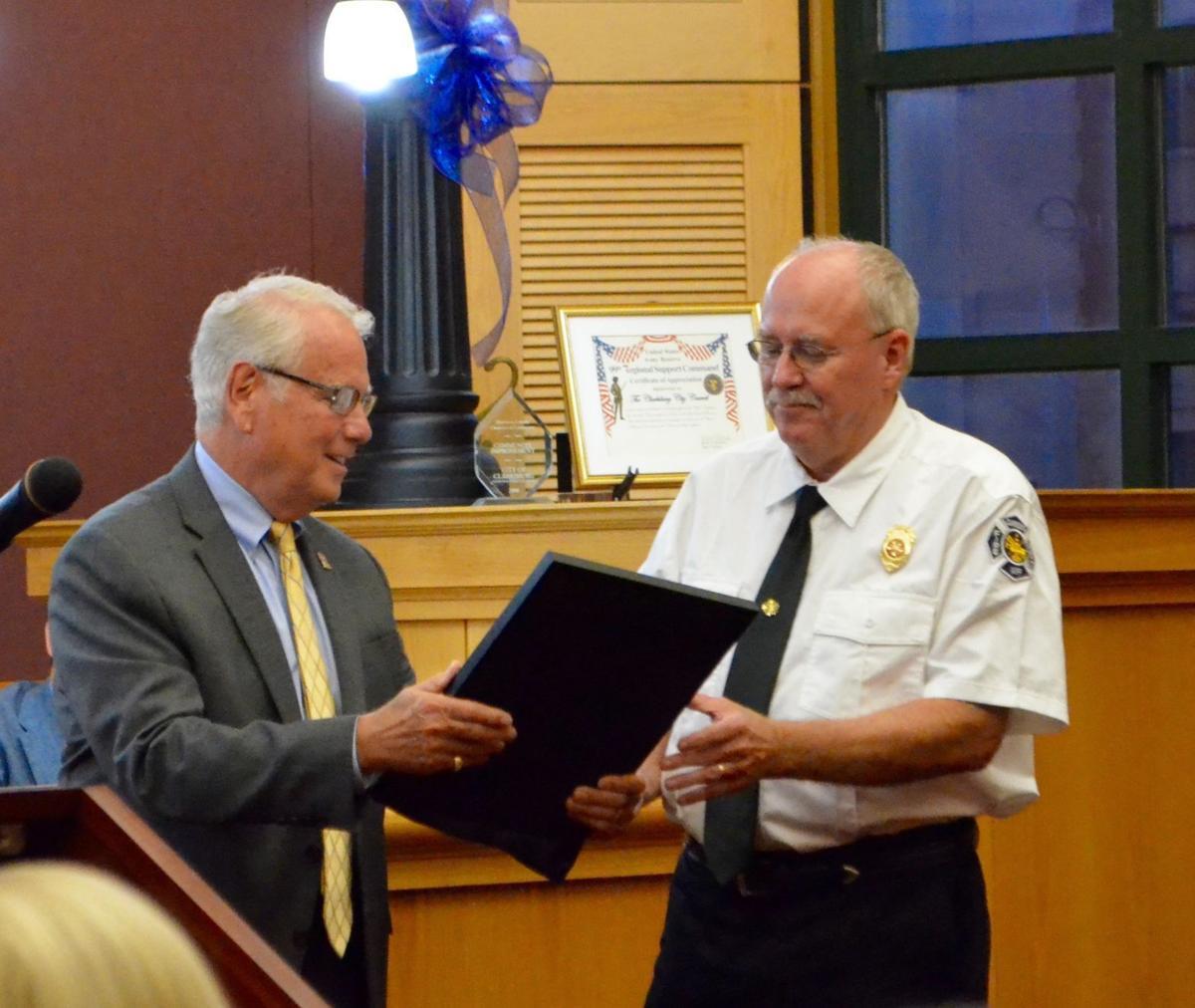 Clarksburg Fire Chief