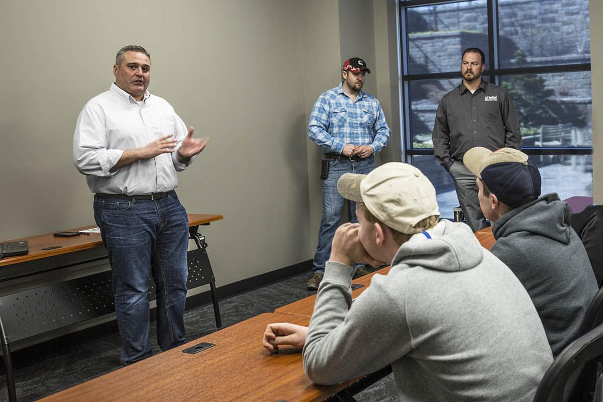 Beitzel Corporation holds career event for juniors and seniors