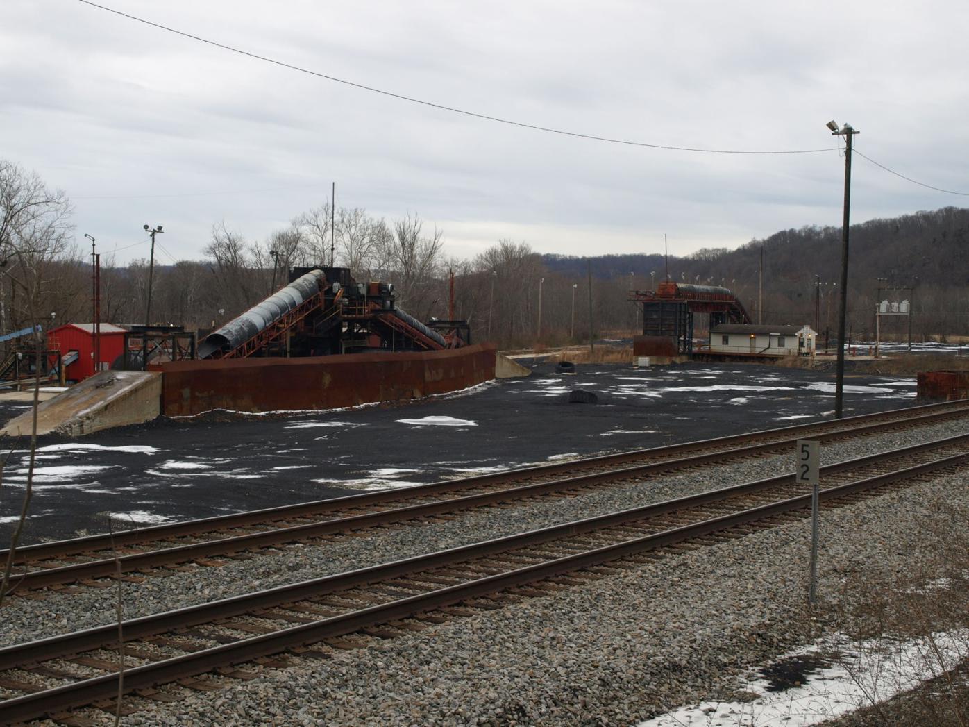 Wayne Co. coal dock