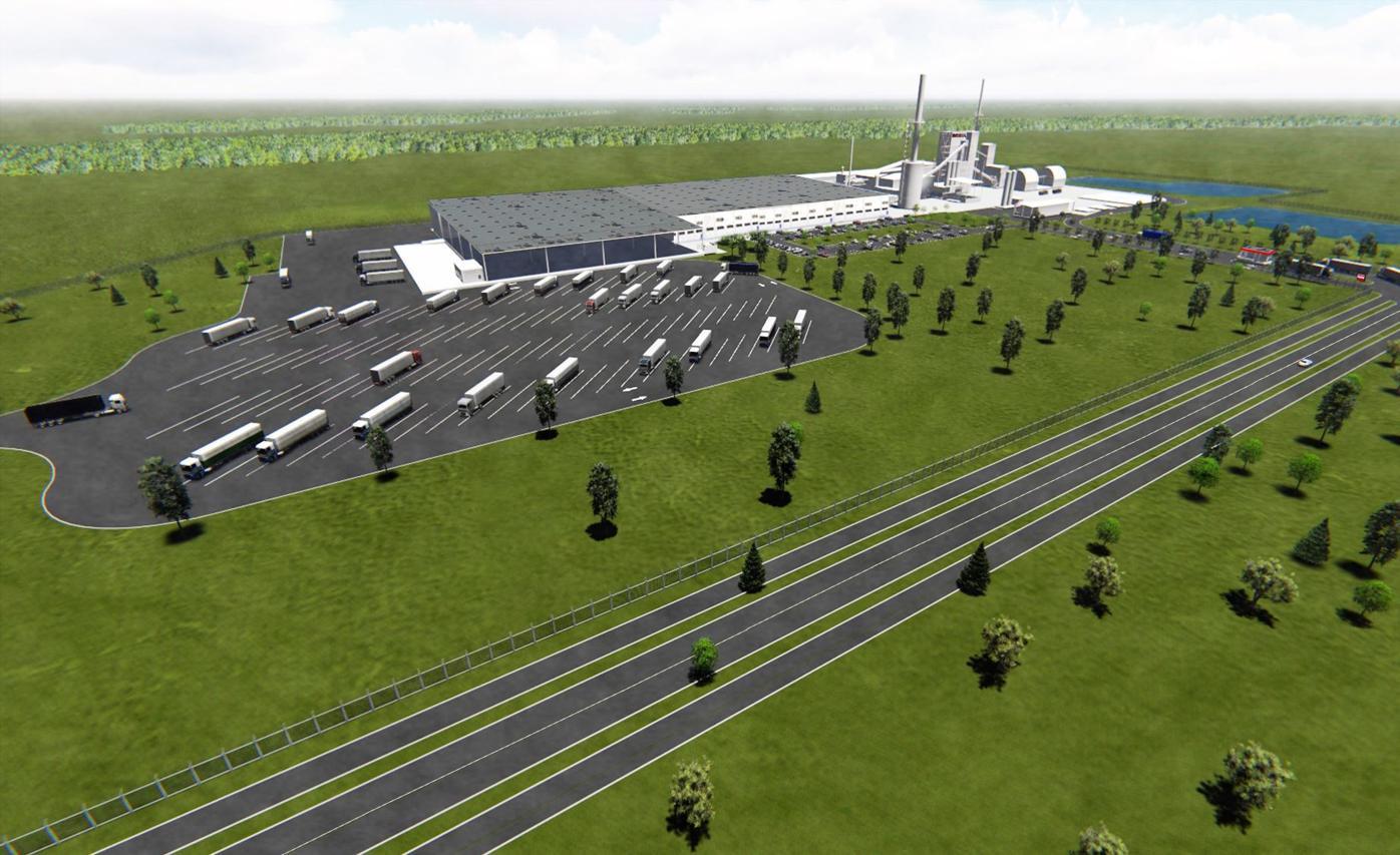 Rockwool building rendering