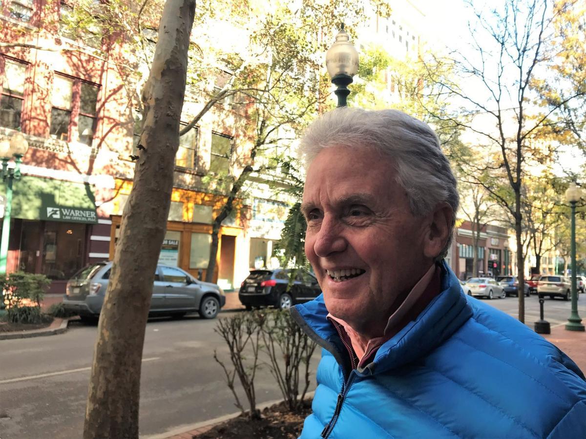 Gaston Caperton enjoying fall in Charleston