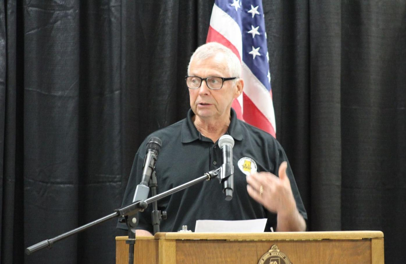 McVicker state of the county