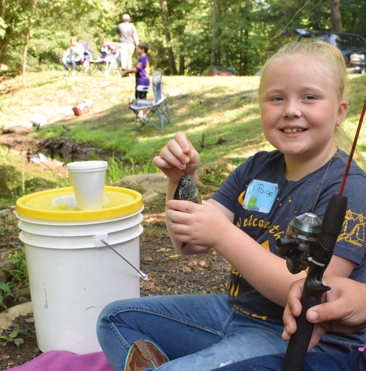 Broken Wheel Campground hosts kids fishing tournament