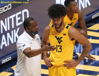 WVU Basketball Larry Harrison Isaiah Cottrell Front.JPG