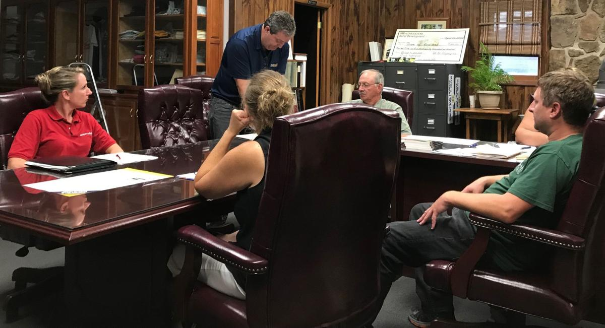 Internet service discussed by Accident Town Council