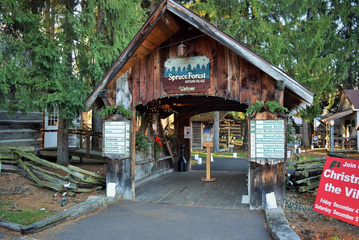 Spruce Forest Entrance