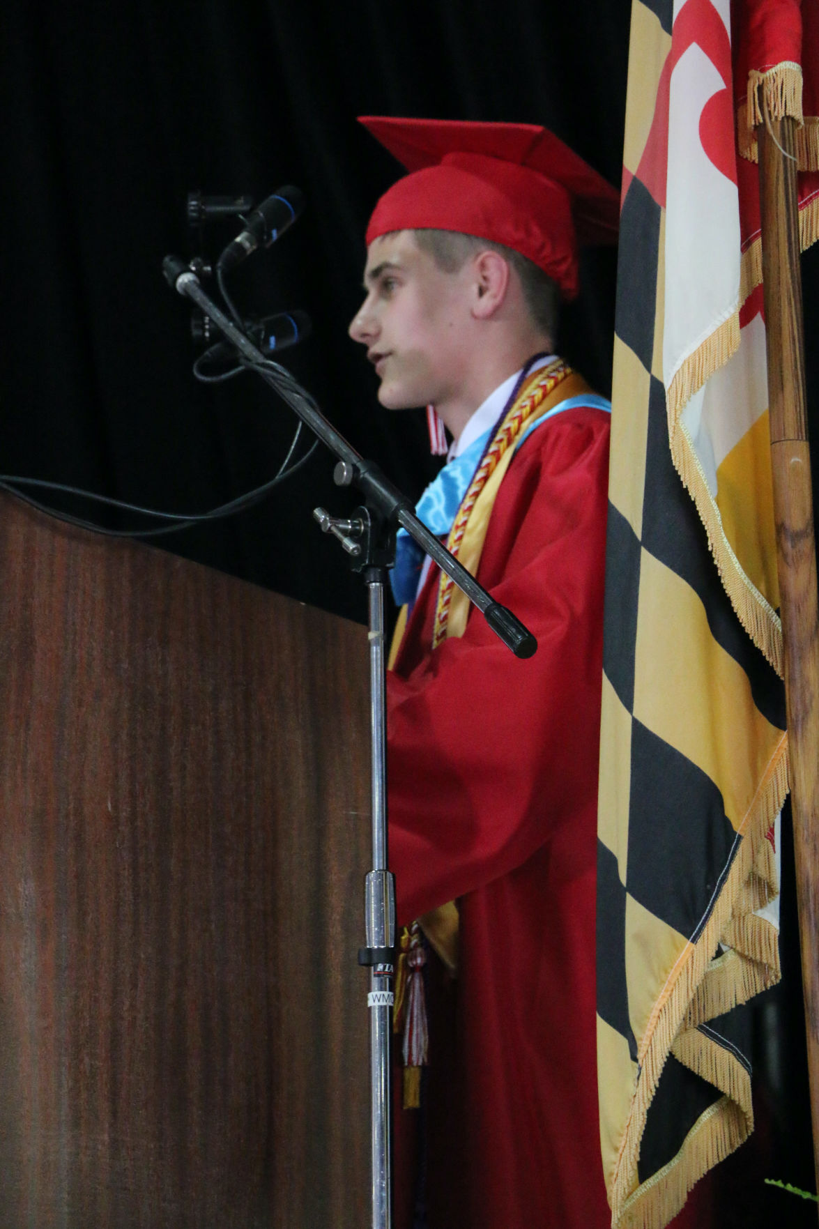 Southern valedictorian speaks
