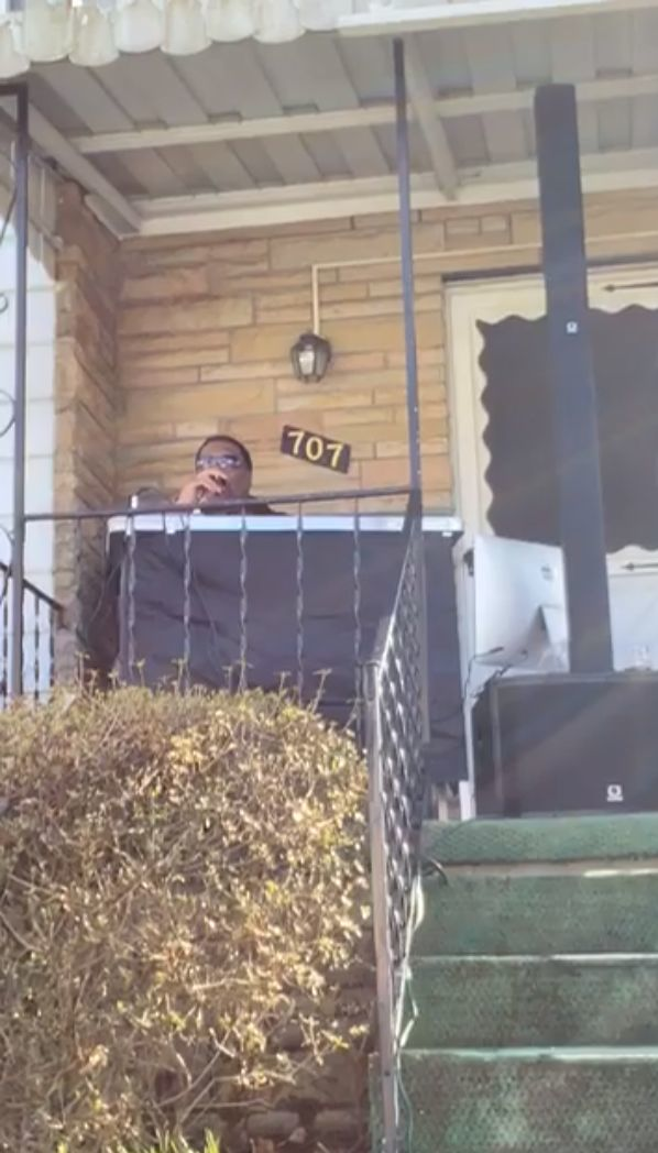 Cooper porch concert